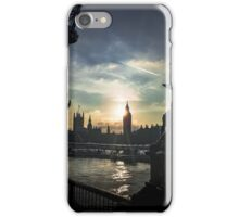 London Sunset - Art, Apparel, and Home Decor iPhone Case/Skin