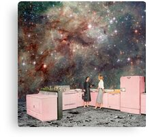 Luna Kitchen with a View Canvas Print