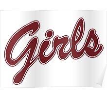 Girls - Friends Poster