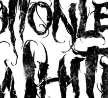 Motionless in White Sticker