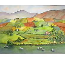 A Yorkshire Tapestry Photographic Print