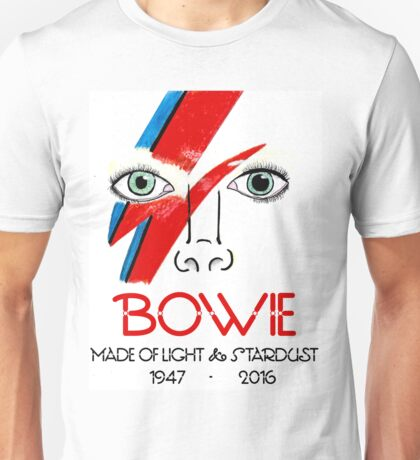 A Tribute to Bowie Unisex T-Shirt