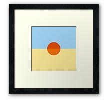 STN KAUAI Framed Print