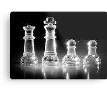 The Chess Family Metal Print