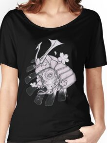 Day Of The Dead Samurai Women's Relaxed Fit T-Shirt