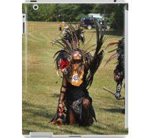 aztec dancers iPad Case/Skin