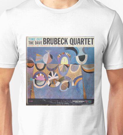 Time Out, Dave Brubeck Quartet, Original Mono cover Unisex T-Shirt