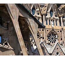 Sagrada Familia - Entrance Photographic Print
