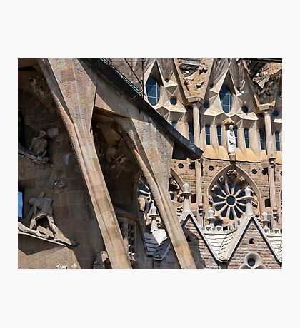 Sagrada Familia - Entrance Photographic Print