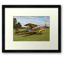 DH.87B Hornet Moth W9385/YG-3 G-ADND Framed Print