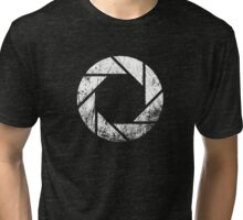 Aperture Laboratories - Distressed Tri-blend T-Shirt