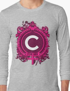 FOR HER - C Long Sleeve T-Shirt