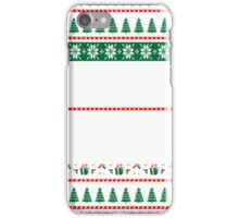 Sleep With Awesome Civil Engineer White Christmas T-Shirt iPhone Case/Skin