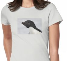 Adelie Penguin Womens Fitted T-Shirt