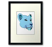Lion's Game Framed Print