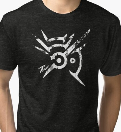 Outsider's Mark - Distressed Tri-blend T-Shirt