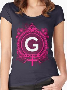 FOR HER - G Women's Fitted Scoop T-Shirt