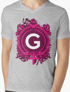FOR HER - G Mens V-Neck T-Shirt