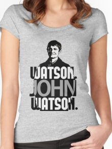 Watson. John Watson. Women's Fitted Scoop T-Shirt