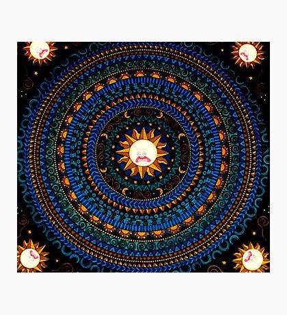 Rick And Morty Sun Tapestry  Photographic Print
