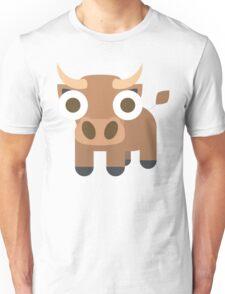 Ox Emoji Shocked and Surprised Look Unisex T-Shirt