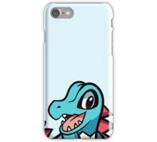 Totodile iPhone Case/Skin