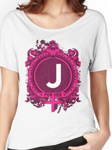 FOR HER - J Women's Relaxed Fit T-Shirt