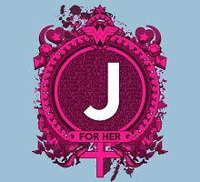 FOR HER - J Womens Fitted T-Shirt