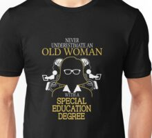 Old Man Special Education T-shirts,hooides Unisex T-Shirt