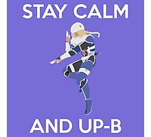 Smash Bros - Stay Calm Sheik Photographic Print