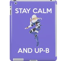 Smash Bros - Stay Calm Sheik iPad Case/Skin