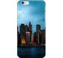 Manhattan At Dawn iPhone Case/Skin