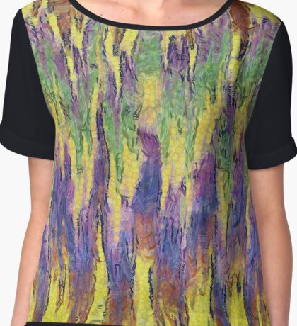 Leaping Colours Chiffon Top