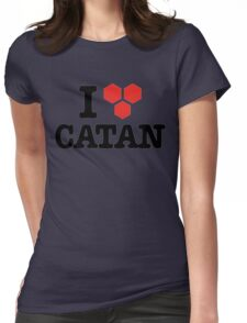 I Love Board Game Womens Fitted T-Shirt