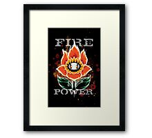 Fire Power Framed Print