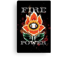 Fire Power Canvas Print