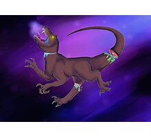 Dinos in space Photographic Print
