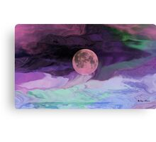 Moon River-  Art + Products Design  Canvas Print