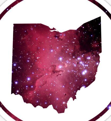 Silhouette the Sky - Beautiful Ohio Sticker