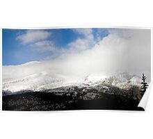 Storm pushing in - Colorado Mountains Poster