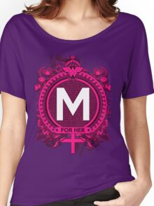 FOR HER - M Women's Relaxed Fit T-Shirt