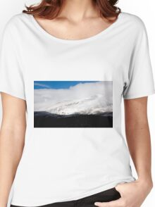 First snow on Hoosier Pass, Colorado Women's Relaxed Fit T-Shirt