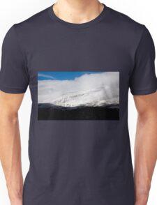 First snow on Hoosier Pass, Colorado Unisex T-Shirt