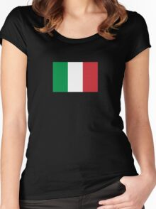 Italy World Cup Flag - Italian T-Shirt Women's Fitted Scoop T-Shirt