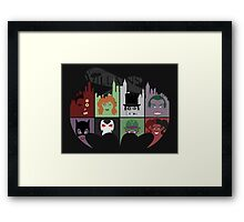 Gotham Villains Framed Print