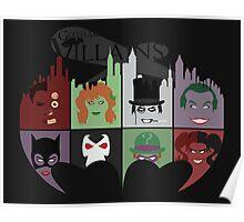 Gotham Villains Poster