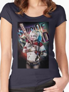 HARLEY QUINN Women's Fitted Scoop T-Shirt