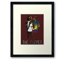 The Haunted - Armen: The Puppet Framed Print