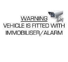 Warning -Immobiliser/Alarm Car by fadouli