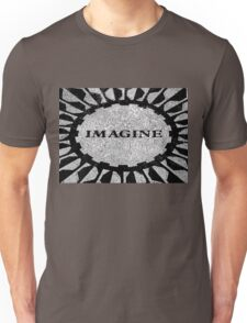 Imagine Mosaic, Central Park, New York, NY Unisex T-Shirt